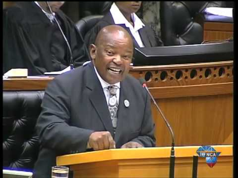 debate - For more on this and other stories please visit http://www.enca.com/ May 22 - In the parliamentary debate about the Guptagate Scandal COPE Mosiuoa Lekota says the response from government...