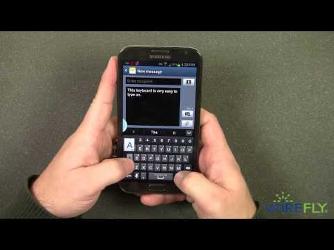 Galaxy Note II Smartphone Quick Look by Wirefly