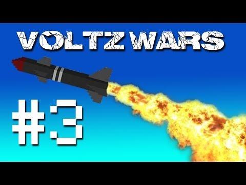 Minecraft Voltz Wars - David's Secret Project! #3