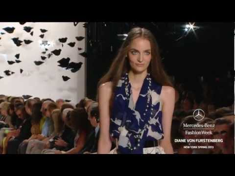 New York Fashion Week Spring 2013 - Diane Von Furstenberg