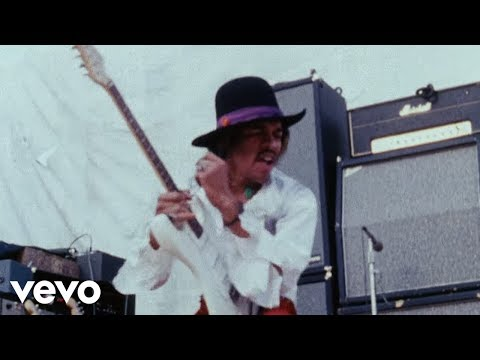 The Jimi Hendrix Experience - Foxey Lady (Miami Pop 1968) (видео)