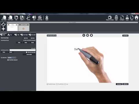 Explaindio Video Creator 2.x Basic Training: EVC 101 Starting up