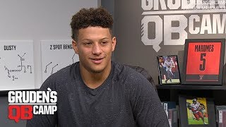 Patrick Mahomes goes through Gruden's QB Camp (2017)   ESPN Archive