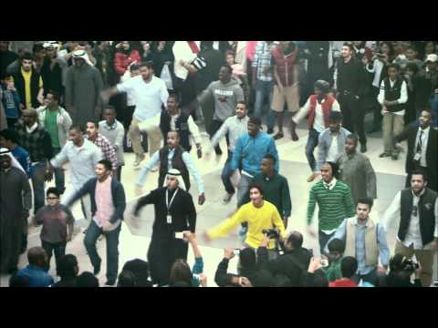 Official Zain Kuwait Flashmob