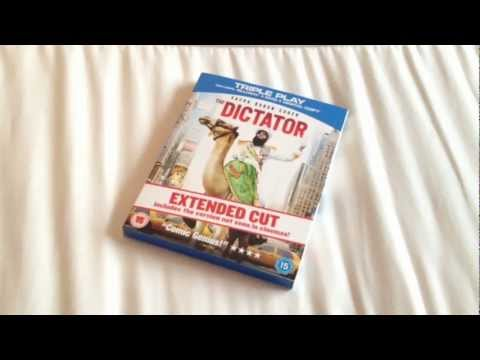 The Dictator Blu-ray Unboxing