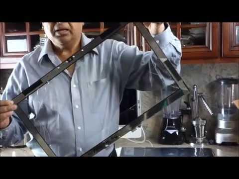 iMac Broken Glass Screen Replacement | How To Fix iMac Cracked Glass Screen - DIY