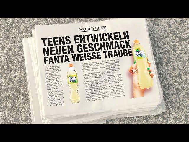 FANTA | TEENS ENTWICKLEN NEUEN GESCHMACK