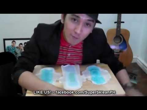 Longrich SUPERBKLEAN Magnetic Sanitary Napkin ABSORBENCY TEST