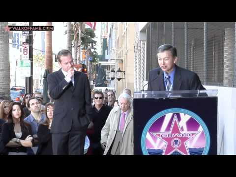 Kiefer Sutherland Walk of Fame Ceremony
