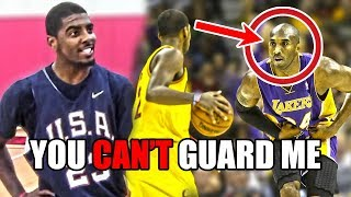 Video The Time Kyrie Irving TRASH TALKED Kobe Bryant And Got OWNED MP3, 3GP, MP4, WEBM, AVI, FLV Desember 2018