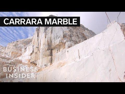 A Tour of the Carrara Marble Mountain of Italy