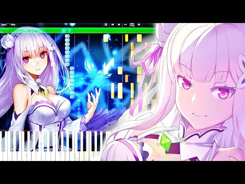 Re:Zero Kara Hajimeru Isekai Seikatsu ED - STYX HELIX | Piano Tutorial, Re:ゼロから始める異世界生活 【ピアノ】 (видео)