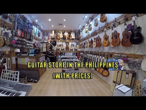 RJ Guitars Store in the Philippines With Prices (Plus Bonus video)