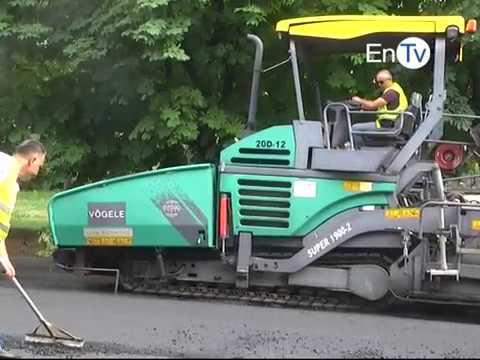 В Энергодаре будет частично перекрываться движение автотранспорта из-за укладки асфальта