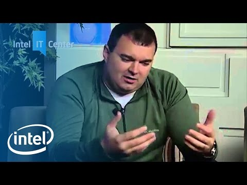 Data center optimization--Decision to Build Private Cloud | Intel