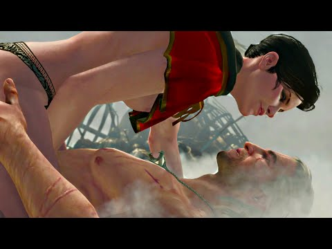 THE WITCHER 3 · SYANNA ROMANCE SCENE (Blood & Wine) |