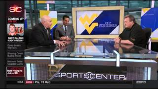 Bob Huggins joined Kevin Negandhi and Seth Greenberg on ESPN's SportsCenter on Tuesday morning.