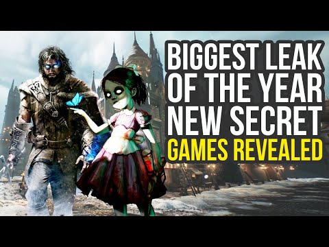 We Just Got The Biggest Leak Of The Year - New Secret Games Revealed