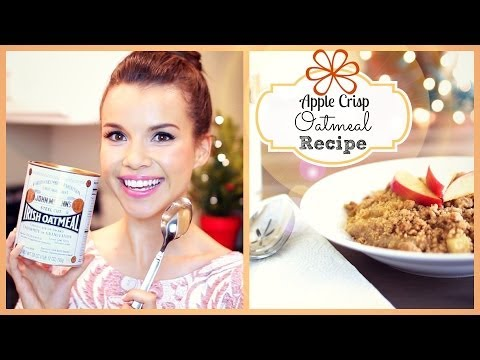 crisp - Start off your day by warming up your tummy with my favorite winter breakfast recipe! Watch Day 3: http://youtu.be/5Z0T-Woavw0 Another one of my cozy treats ...