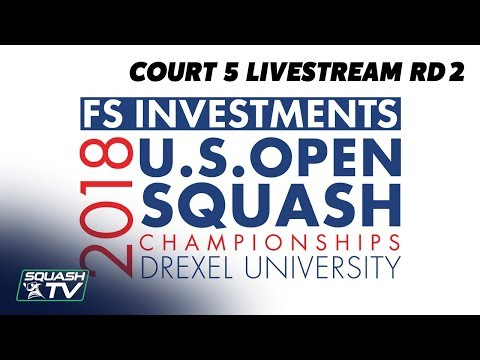 Court 5 LiveStream - US Open 2018 Rd 2 - Evening Session