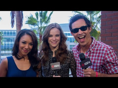 cast - We talk to Tom Cavanagh, Candice Patton, Danielle Panabaker about the direction of season 1, and meeting the high expectations of the fan base.