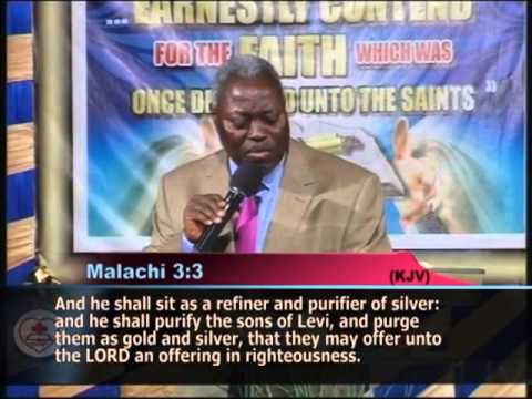 THE PROMISED BAPTISM OF THE HOLY GHOST, BY PASTOR W.F KUMUYI