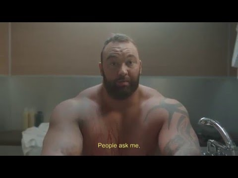 The Mountain From Game of Thrones Stars in Hilarious Sparkling Water