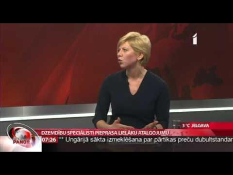 """Andas Čakšas intervija LTV """"Rīta Panorāma"""""""