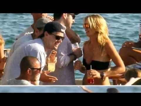 DiCaprio On Boat With Topless Models