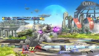 Mewtwo can combo Ganon quite well; especially the final kill!
