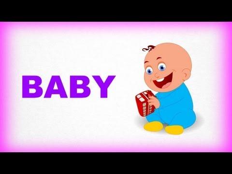 Ailem ve Ben, Baby – Çocuklar İçin İngilizce Öğrenme Videosu