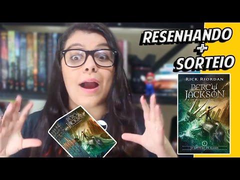 Resenhando | Percy Jackson e o Ladrão de Raios - Rick Riordan