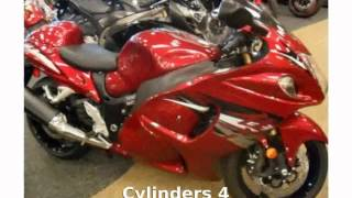 6. 2012 Suzuki Hayabusa 1340 Limited Details & Features