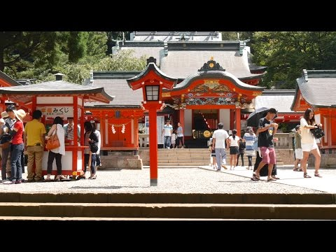 KAGOSHIMA Energetic Japan ?Shinto Shrine in Japan 4K