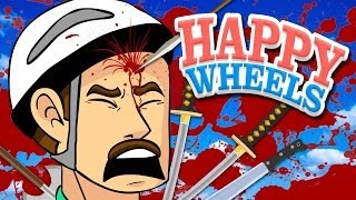 "HAPPY WHEELS: ""HOW TO DIE"" - Happy Wheels Gameplay & Commentary"