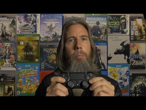 The Video Game Man | ASMR