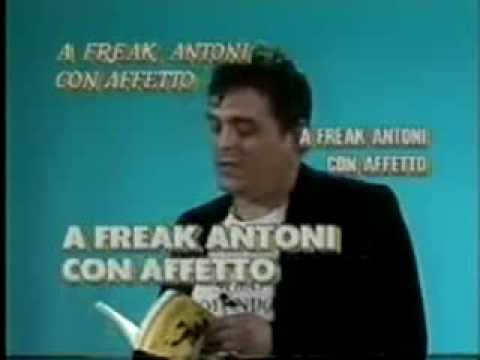 Freak Antoni: Non c'è gusto in Italia ad essere intelligenti (Skiantos)