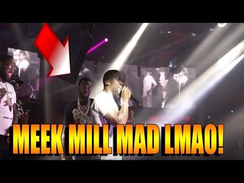 Meek Mill Vs  Kevin Hart aka Chocolate Drop Rap Battle In Las Vegas! REACTION