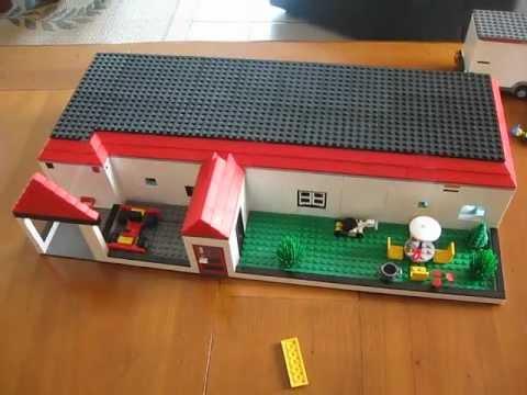 comment construire une maison en lego