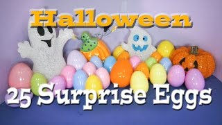 The Assistant opens 25 Spooky Surprise Eggs with Scooby Doo Toys
