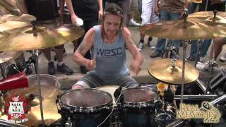 Here Is the full drum solo from the welcome home nicko party more to come of the whole day and music at his rib place in Coral ...