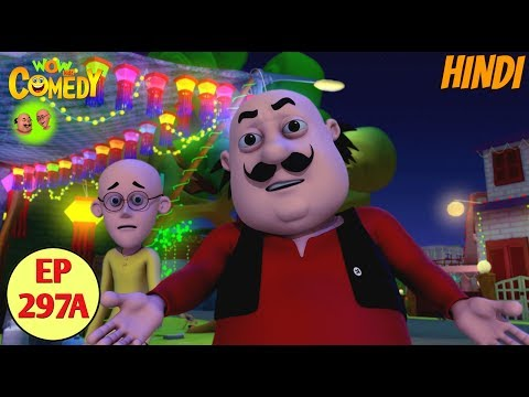 Motu Patlu |Cartoon in Hindi |Christmas Videos |3D Animated Cartoon Series for Kids |Ep 297A