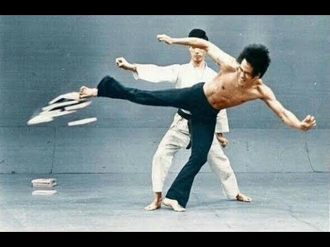 Bruce Lee Speed Montage Compilation Inhuman - Tribute-