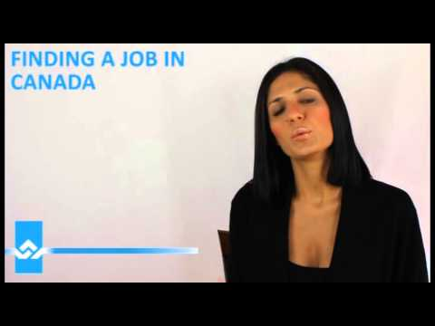 Finding a Job in Canada Video