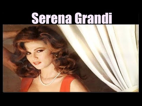 Serena Grandi Attractive Lady of the Eighties