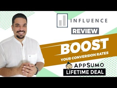 Watch 'Influence Review & Walkthrough - Use Social Proof Notifications to Boost Conversions [AppSumo Deal] - YouTube'