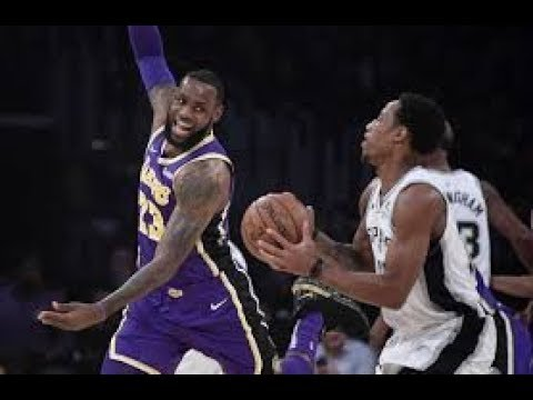 Los Angeles Lakers vs San Antonio Spurs NBA Full Highlights (6TH DECEMBER 2018-19)