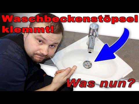 Waschbecken Stopfen geht nicht mehr hoch! Was nun? Von M1Molter