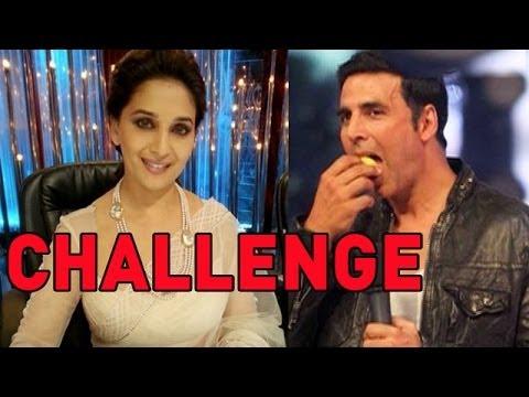 Video Madhuri Dixit 'CHALLENGES' Akshay Kumar download in MP3, 3GP, MP4, WEBM, AVI, FLV January 2017