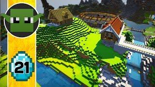 Transform a Minecraft Village into a Town E21 - Expansion!